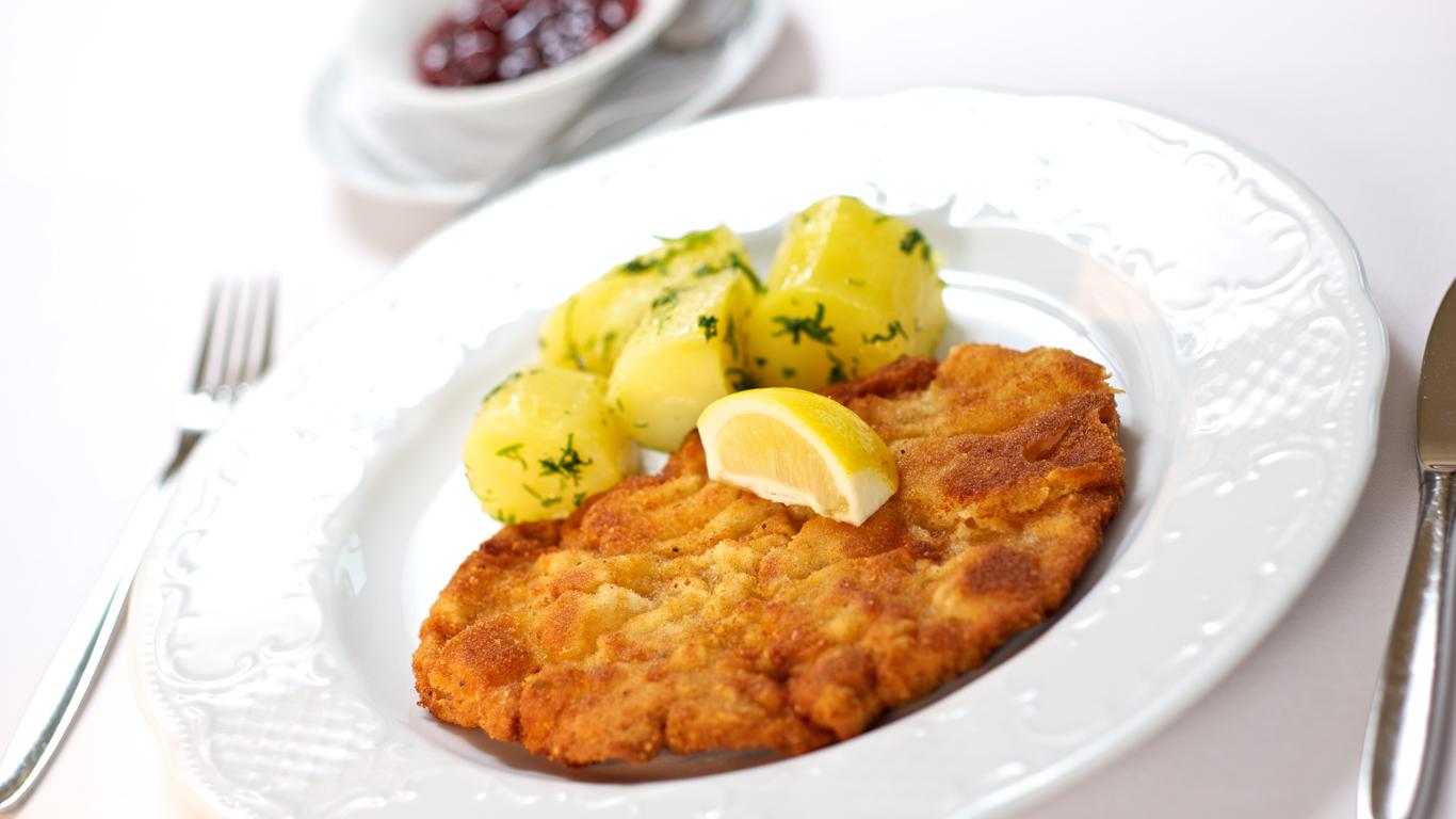 Hotel Restaurant Grafenwirt - Wiener Schnitzel