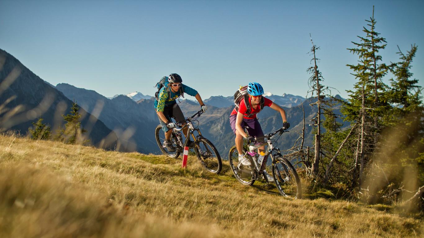 Hotel Grafenwirt - Radfahren Berg