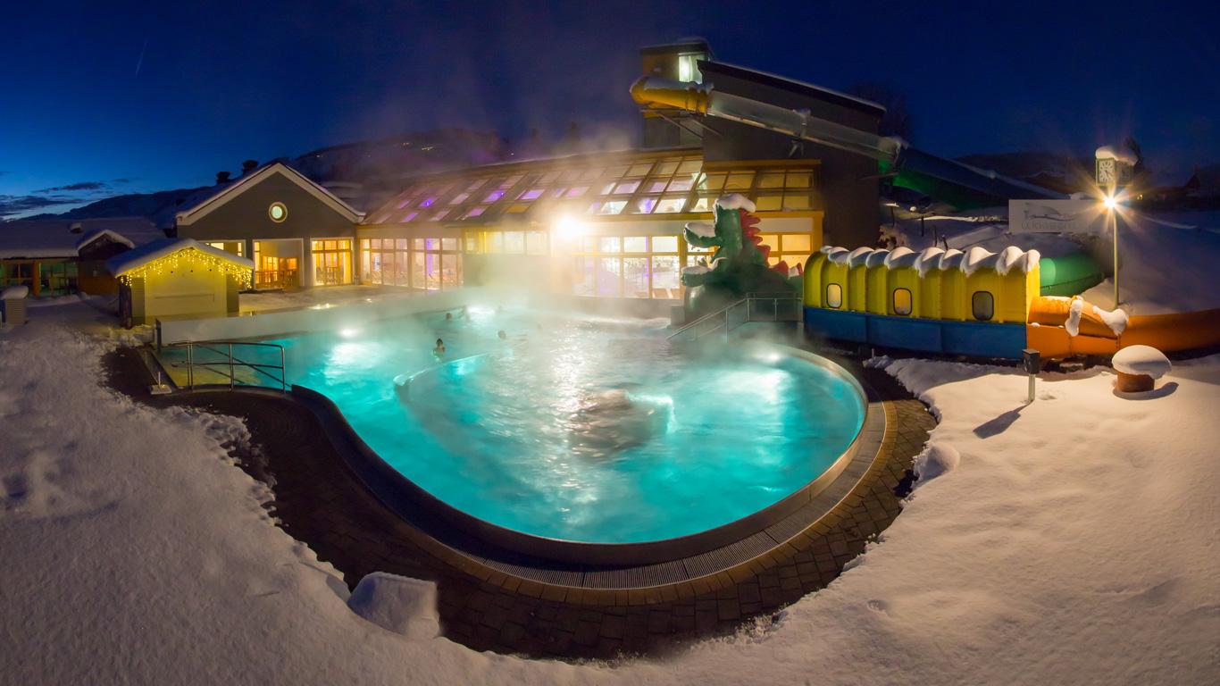 Hotel Grafenwirt - Wasserwelt Wagrain Winter