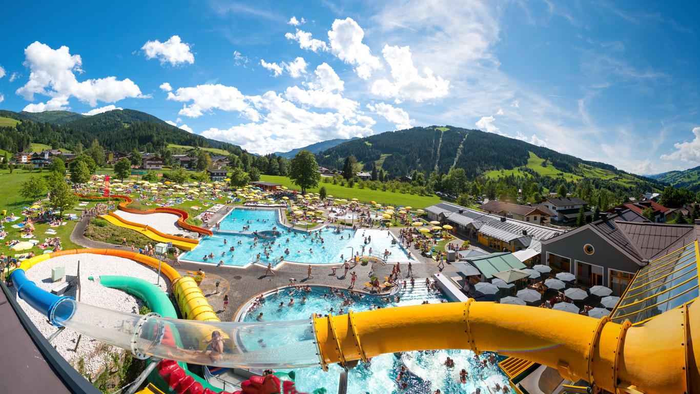 Hotel Grafenwirt - Wasserwelt Wagrain Sommer